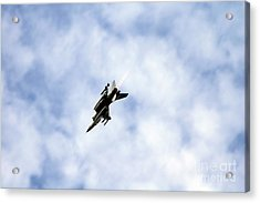 F-16 Of The Belgian Air Force Acrylic Print by Luc De Jaeger