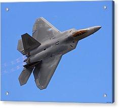 F-22 03 Acrylic Print by Jeff Stallard
