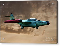 F-89 Scorpion Acrylic Print by Tommy Anderson
