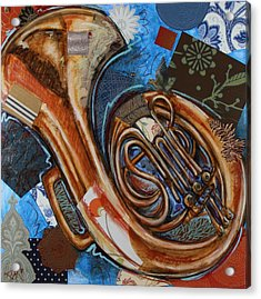 Fa The French Horn Acrylic Print