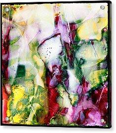 Faberge Acrylic Print by Greta Thorsdottir