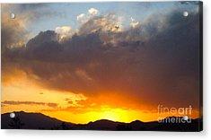 Fabulous Sunset Acrylic Print by Phyllis Kaltenbach