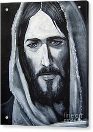 Face Of Christ - One Acrylic Print