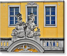Faces Of Places In Dresden Acrylic Print by Christine Till