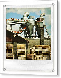 Factory Acrylic Print by HD Connelly
