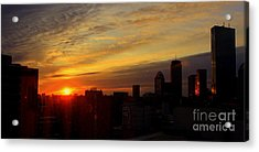 Fading Day Boston Acrylic Print