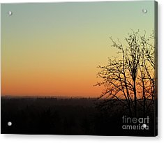 Acrylic Print featuring the photograph Fading Day by Gayle Swigart