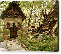 Faerie Garden Acrylic Print by Azthet Photography