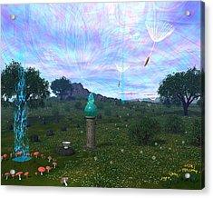 Faerie Led Acrylic Print by Diana Morningstar