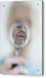 Failing Eyesight, Conceptual Image Acrylic Print by Cristina Pedrazzini