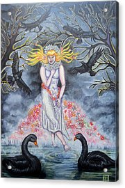 Fair Maiden Acrylic Print by Amiee Johnson