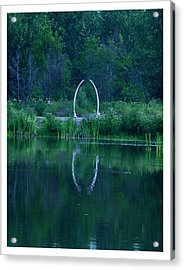 Acrylic Print featuring the photograph Fairbanks Indian Center by Frank Wickham