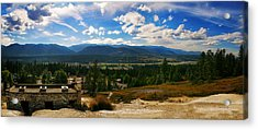 Fairmont Hot Springs Bc Acrylic Print by JM Photography