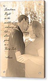 Fairy Tale Acrylic Print by Kelly Hazel