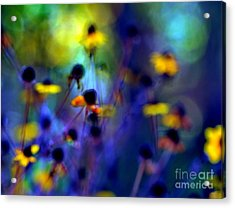 Fairyland Painting Acrylic Print by Andrea Kollo