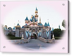 Fairytale Castle Acrylic Print by Heidi Smith