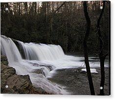 Faith Overflowing Acrylic Print by Victoria Ashley
