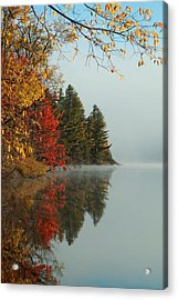 Fall Colors On Low's Lake Acrylic Print