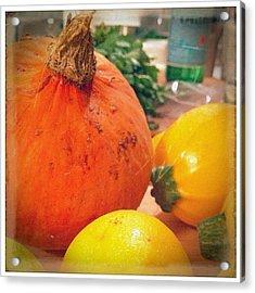 Fall Harvest Squash Hall! #foodies Acrylic Print