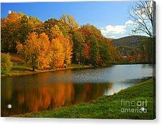 Fall In New York State Acrylic Print