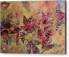 Fall Maples Acrylic Print by David Ignaszewski