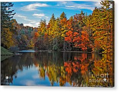 Fall Reflection Acrylic Print