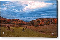 Fall Scenery In The Canadian Countryside Acrylic Print by Chantal PhotoPix
