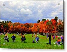 Fall  Sports Acrylic Print
