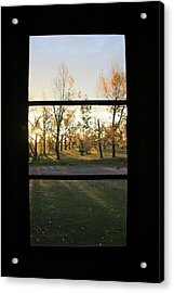 Fall Through The Window Acrylic Print