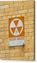 Fallout Shelter Acrylic Print by Nikki Marie Smith