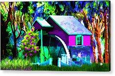 Falls Dream Acrylic Print