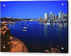 Acrylic Print featuring the photograph False Creek by Scott Holmes