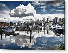 False Creek Vancouver Acrylic Print by Scott Holmes