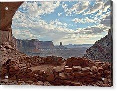 False Kiva Acrylic Print by Jennifer Grover