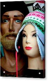 Family Hats Acrylic Print by Jez C Self