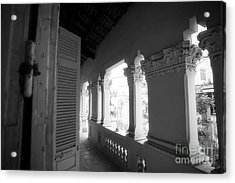 Acrylic Print featuring the photograph Family Porch by Thanh Tran