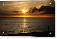 Family Sunset Acrylic Print by Aetherial Pictography