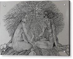 Family Tree Acrylic Print by Michol Childress