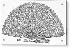 Fan, 1876 Acrylic Print by Granger