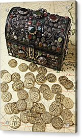 Fancy Treasure Chest  Acrylic Print by Garry Gay