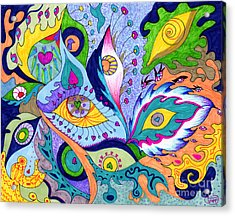 Fantas Eyes Acrylic Print