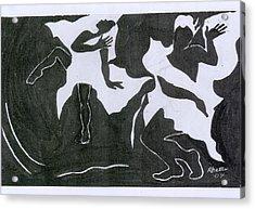 Fantasy Dance Acrylic Print by Rhetta Hughes