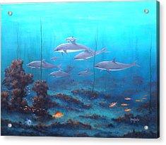 Fantasy Reef Acrylic Print
