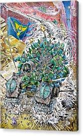 Fantasy Tank Running Wild Acrylic Print by Fabrizio Cassetta
