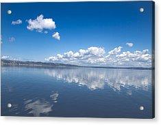 Faraway Clouds Acrylic Print
