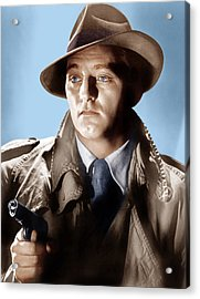 Farewell My Lovely, Robert Mitchum, 1975 Acrylic Print by Everett