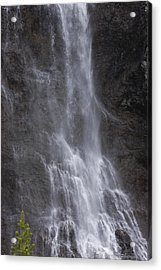 Farie Falls Acrylic Print by Charles Warren