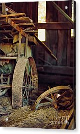 Farm Equipment Acrylic Print by HD Connelly