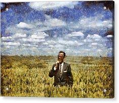 Farm Life - A Good Crop Acrylic Print