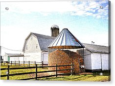 Farm Life Acrylic Print by Todd Hostetter